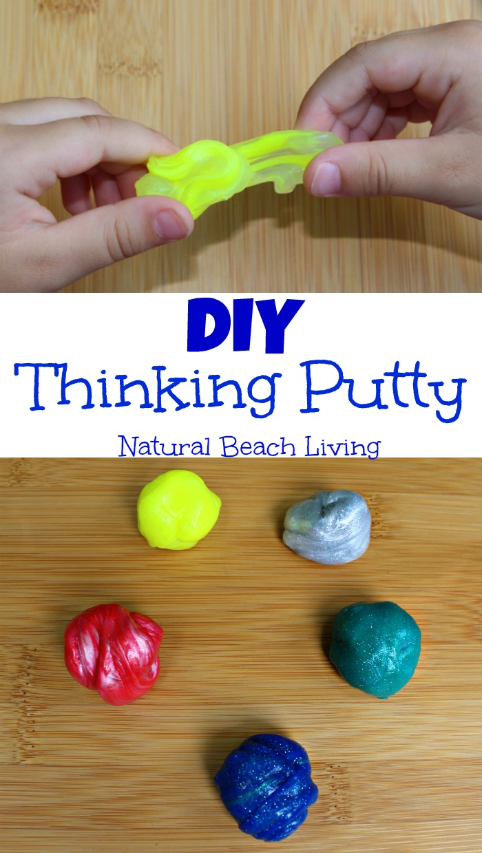 Super Cool Make Your Own Thinking Putty Kit