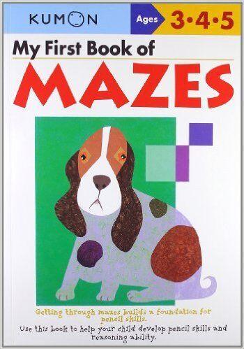 Kumon book of mazes