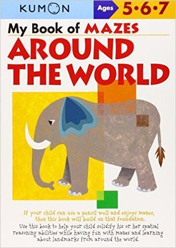 kumon books for preschoolers