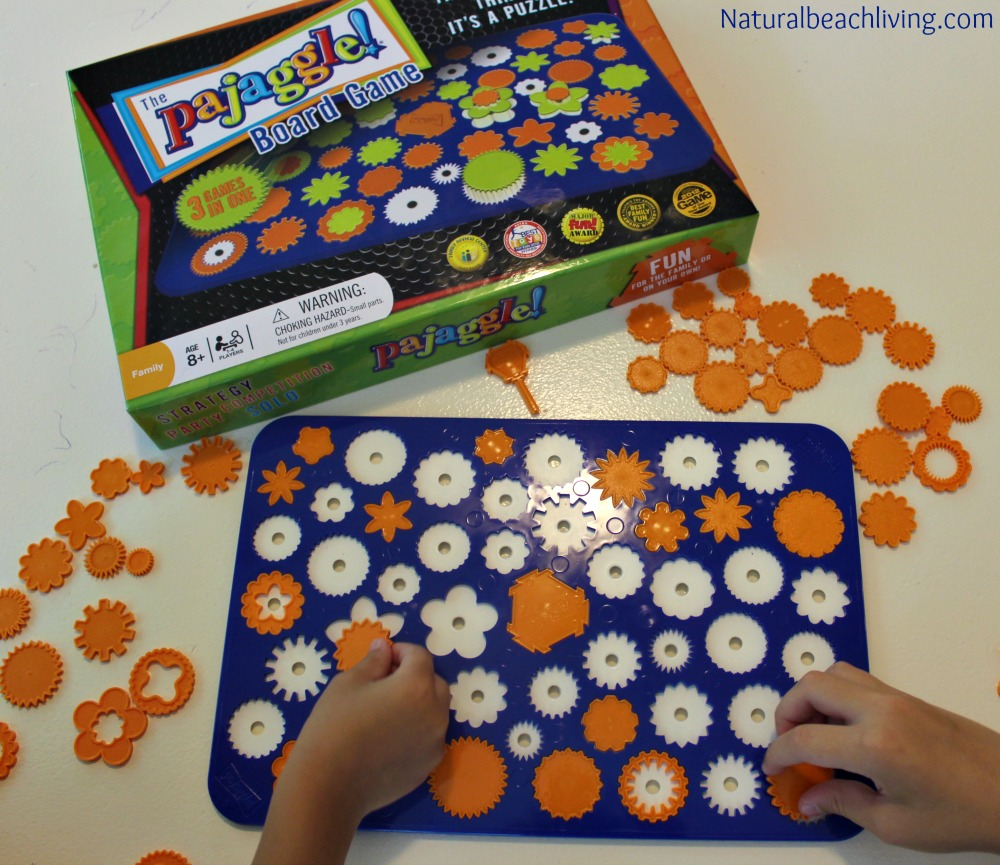 A Brain Game that is Fun for the Whole Family, Multi-sensory learning and fun perfect for family and homeschooling, Timberdoodle, Pajaggle, fine motor skills, concentration, & more