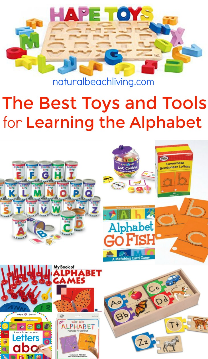 The Best Toys and Tools for Learning the Alphabet