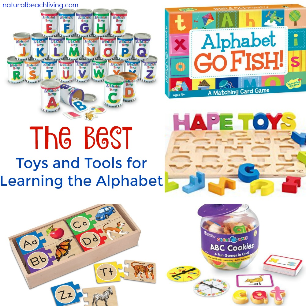 The Best Toys and Tools for Learning the Alphabet, Hands on Alphabet activities, Preschool Gifts, Alphabet toys, alphabet games, Montessori alphabet, Teaching the Alphabet, Alphabet Activities preschool, #Alphabetactivities #Teachthealphabet