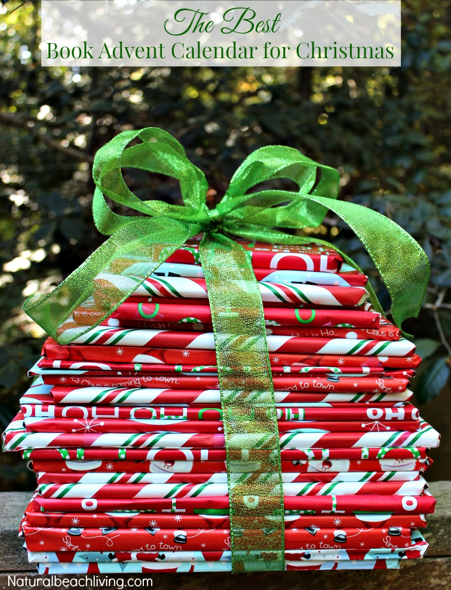 The Best Book Advent Calendar for Christmas, Wrap 25 books for a wonderful Christmas countdown, Christmas idea, Family traditions, Great Family Reading Ideas