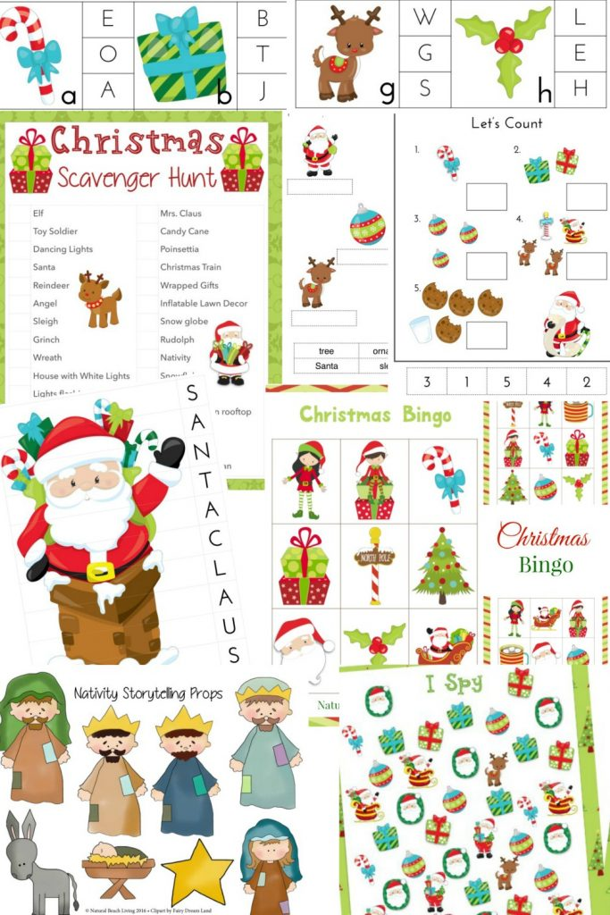 THE BEST Christmas-kids-Activities Pack