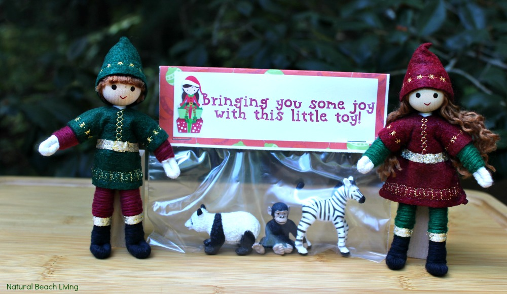 The Perfect Gift Idea to Spread Christmas Kindness, Elf Bag Toppers, Kindness Gifts, Gift Tags, Kindness Elves, Advent ideas, Holiday gifts for under $5