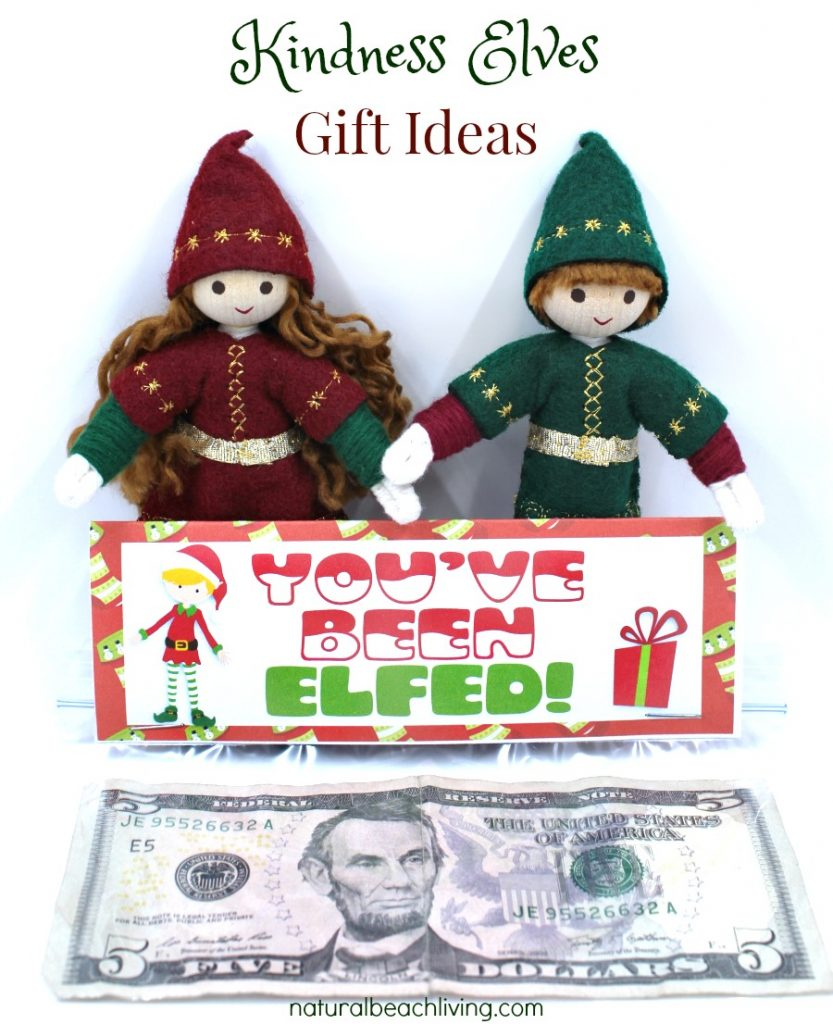 The Perfect Gift Idea to Spread Christmas Cheer, Adorable Bag Toppers, Kindness Gifts, Gift Tags, Kindness Elves, Advent ideas, Holiday gifts for under $5