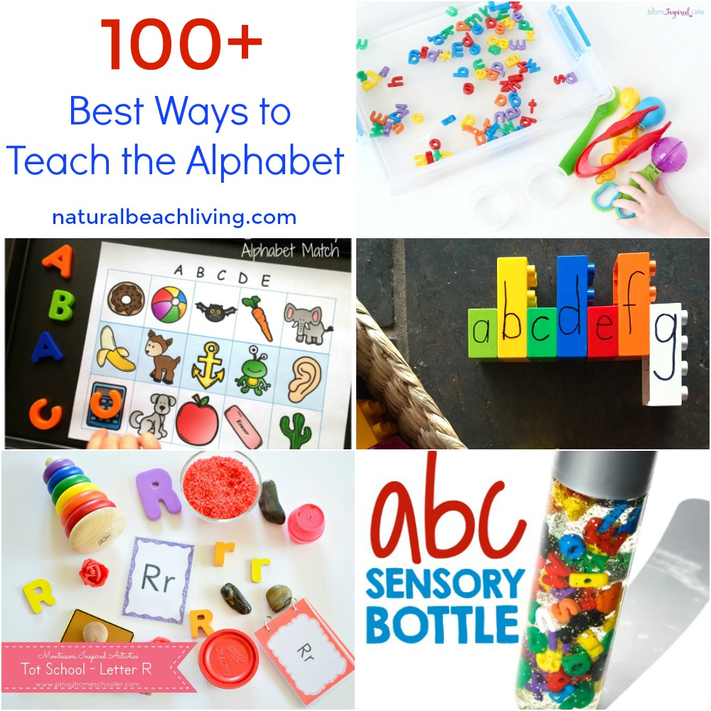 everything you need for teaching the alphabet letter of the week sensory play