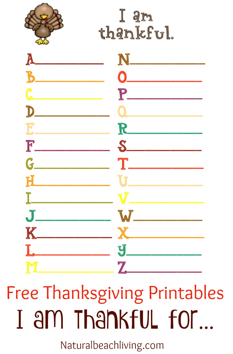 Dashing image throughout thankful printable