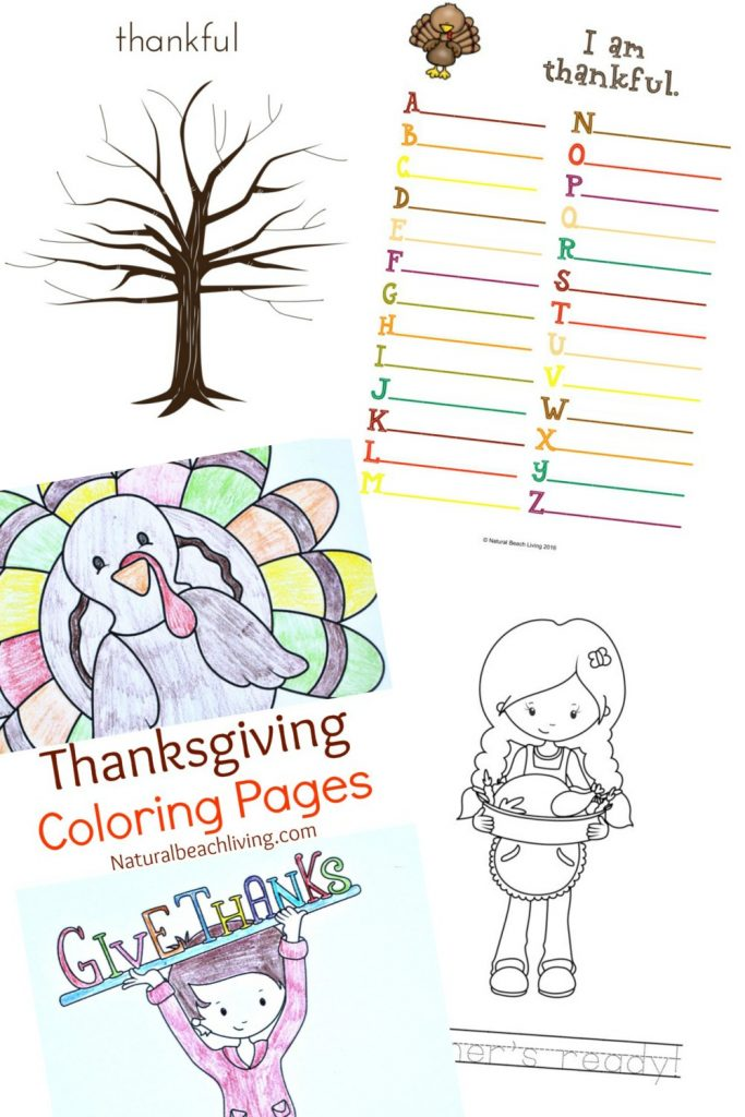 photograph about Thanksgiving Craft Printable called Great Straightforward toward Produce I Am Grateful Craft for Little ones - Natural and organic