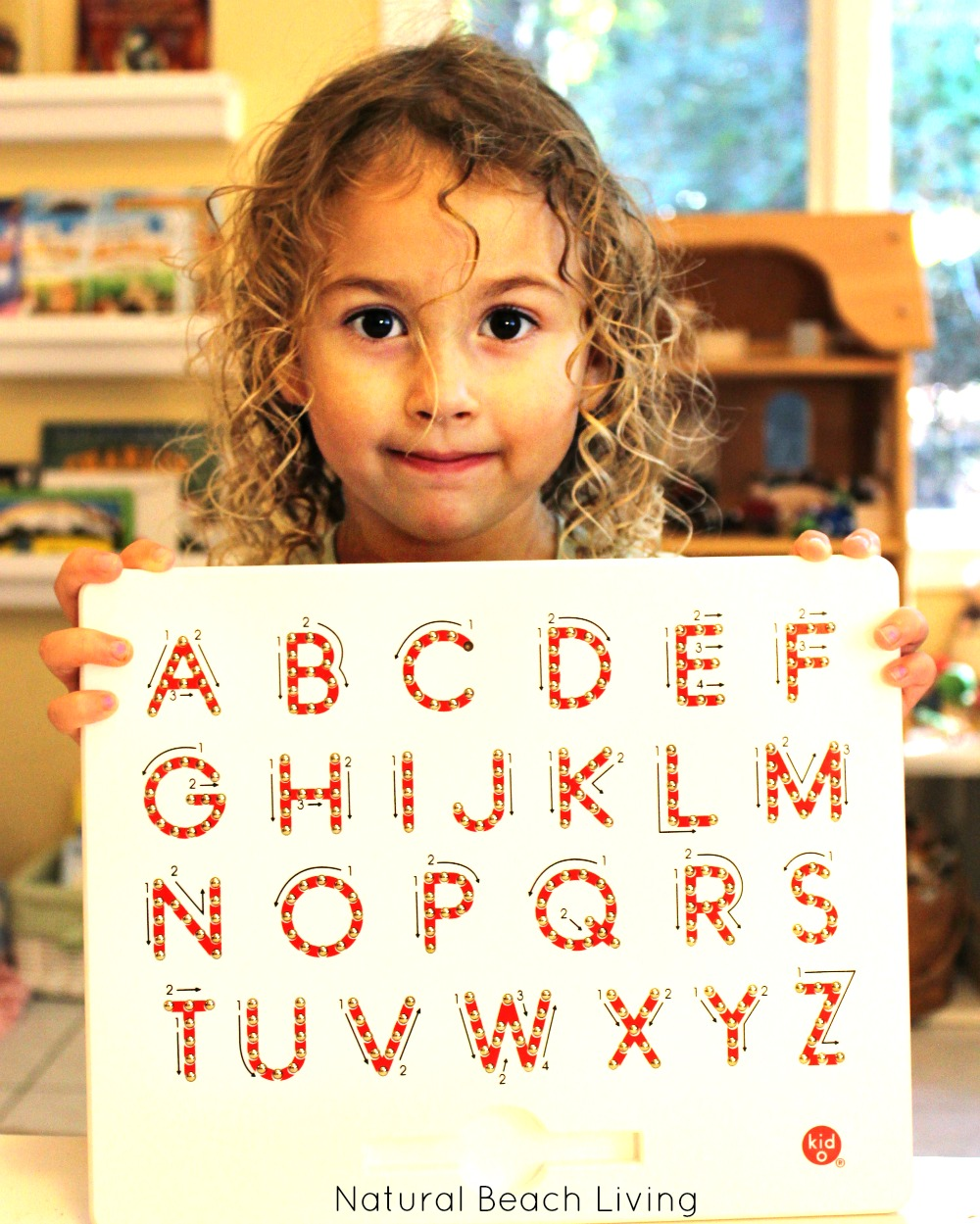 The Magnatab Magnetic Writing Tablet for Preschoolers