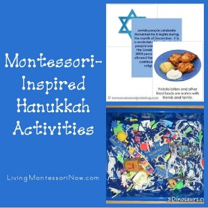 montessori-inspired-hanukkah-activities, Montessori Holiday Activities Perfect for December, Montessori Christmas Activities, Montessori Hanukkah Ideas, Kwanzaa, Nativity, Montessori Gift Ideas & More