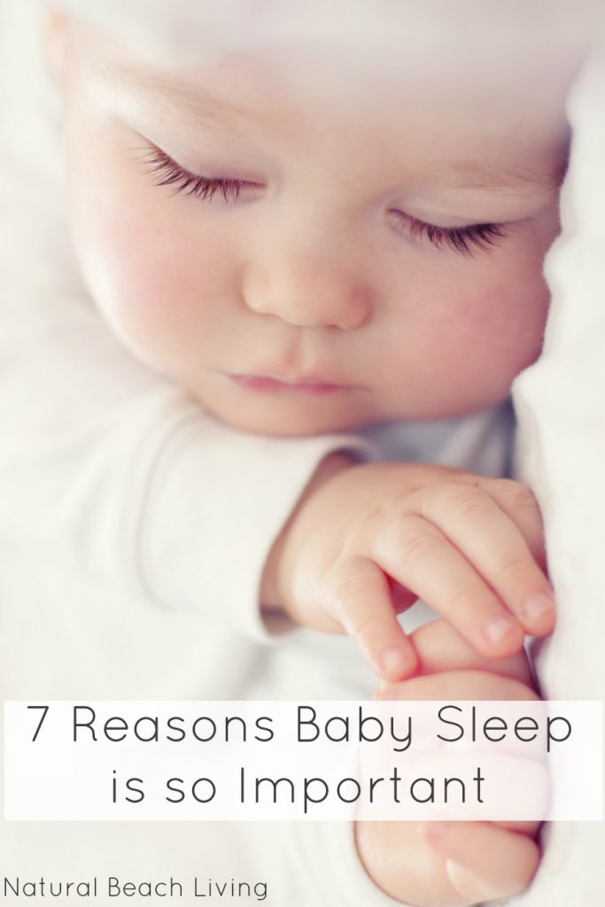 7 Reasons Why Baby Sleep is so Important, keeping your baby happy and healthy, babies brain development, promoting healthy sleep for children