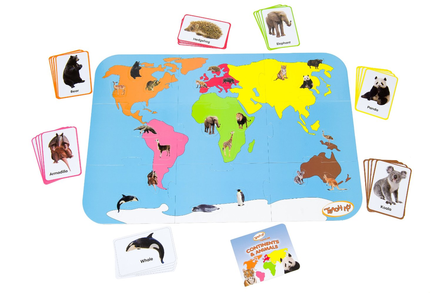 continent-map-and-animals