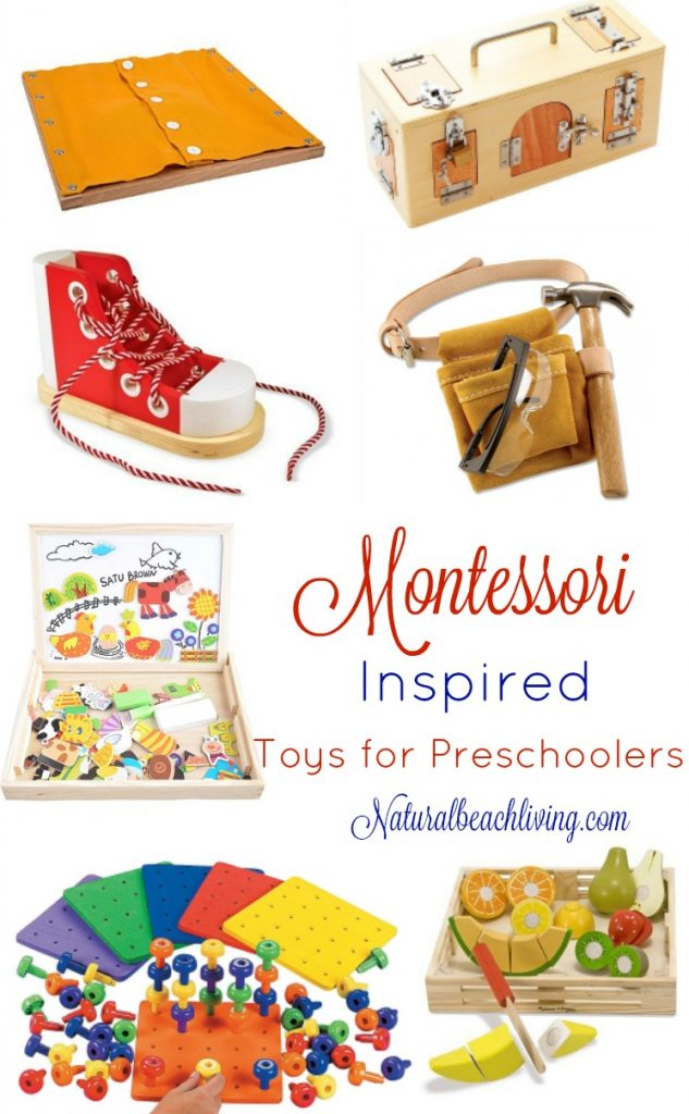 The Best Montessori Toys for 3 year olds, Montessori toys for preschoolers and Montessori education, Best Gifts for 3 year olds, Great gift guide for Montessori at home. Montessori toys for toddlers, Montessori toys Amazon, Montessori toys for preschool, #Montessori
