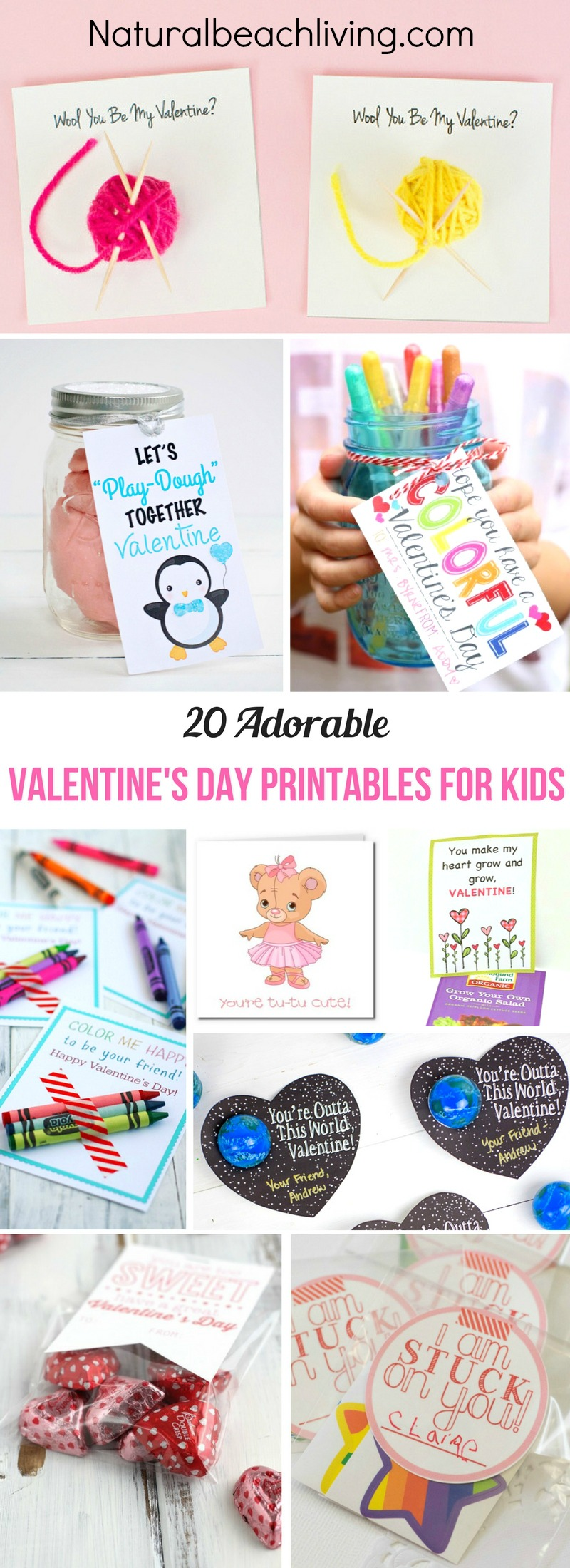 The Best Valentine Printables for Kids, Non-Candy Valentines ideas, Valentine's Day Cards, Today we are sharing over 40 Free Valentine's Day Cards for Kids, Valentines ideas and activities, Valentine's Day Party Ideas and more