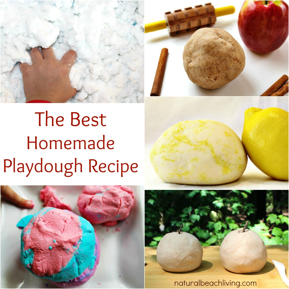 How to make homemade play dough, The BEST homemade playdough recipe. easy to make with kitchen supplies, will last for months. No Cook playdough