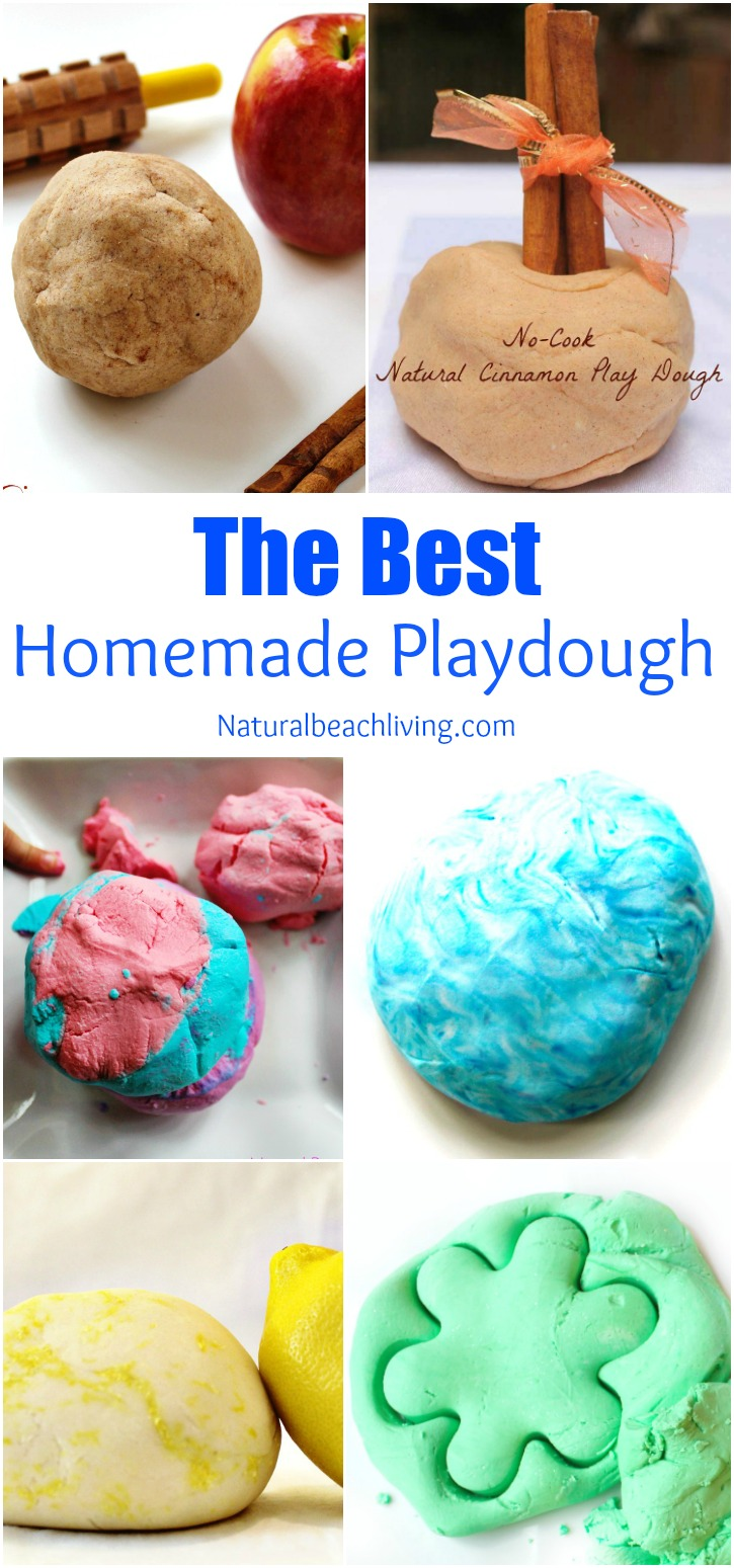30+ Playdough Recipes, How to Make Homemade play dough, The BEST Playdough Recipe, easy to make playdough, scented playdough, No Cook playdough recipe, 2 Ingredient Playdough, Jello Playdough, Cinnamon Playdough and More #Playdough #Homemadeplaydough #cinnamonplaydough #playdoughrecipe #playdough #scentedplaydough #nocookplaydough