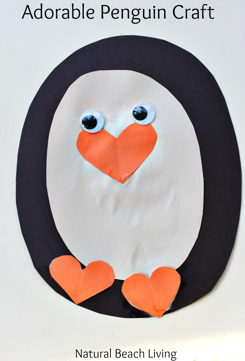 Adorable Penguin Craft Preschool Activity Penguin Theme Unit Penguin Crafts Fine Motor Skills