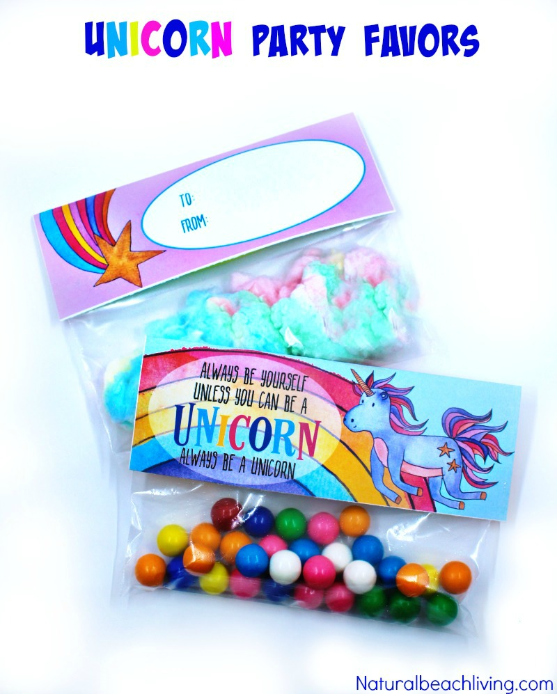 Unicorn Treat Bags That Make The Perfect Goodie Bag Ideas Natural