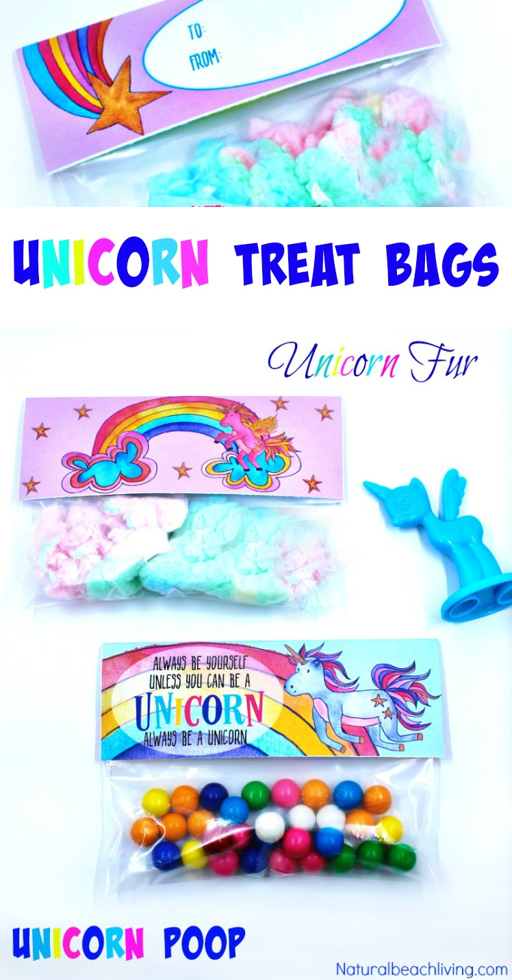 Unicorn Party Treat Bags