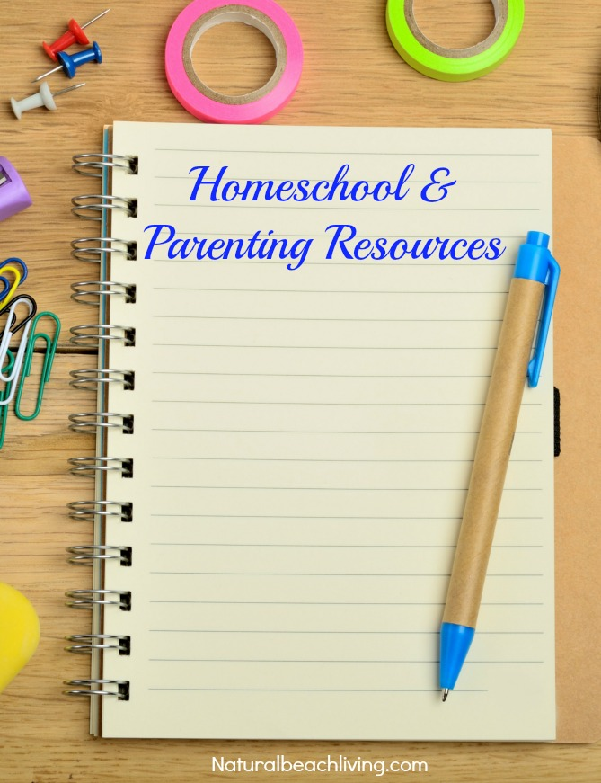 Homeschool & Parenting Resources, Welcome Natural Beach Living Subscribers, 150+ Free Printables and Hands on Activities on Natural Living, Homeschooling, Lesson Plans, Party Ideas, Craft Templates, Free Daily Visual Schedules and so much more