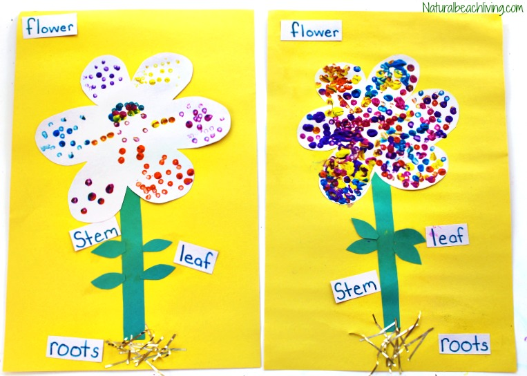 The Best Parts of a Flower Craft for Kids - Natural Beach ...