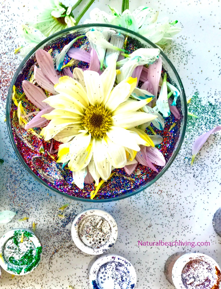 Easy spring flowers sensory play kindness activity kids love the most amazing spring flowers sensory play and kindness activities for kids flower activities for mightylinksfo