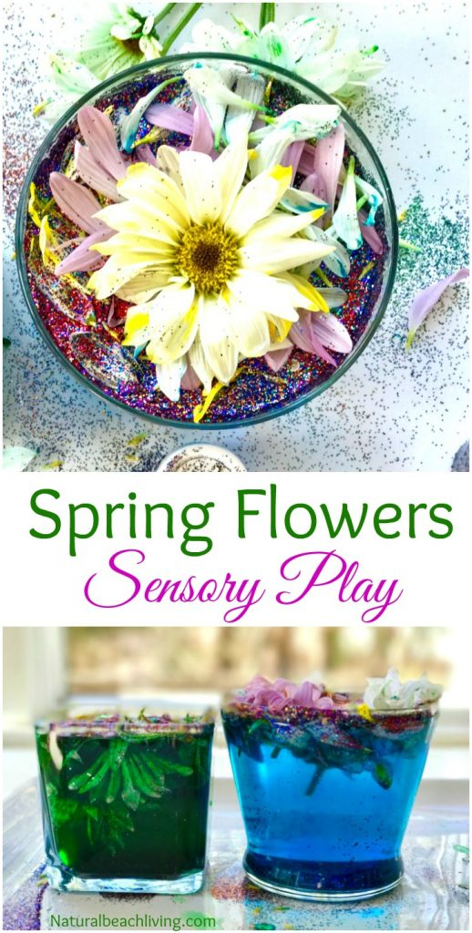 The Most Amazing Spring Flowers Sensory Play and Kindness Activities for kids, Flower activities for kids, Flower sensory bin, Spring activities for kids, Kindness Sensory Bin, Flower Science, Flower Sensory Activity, Perfect Spring Preschool Theme
