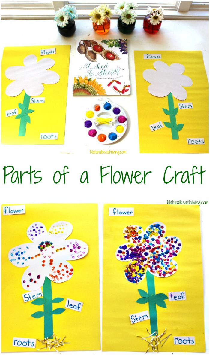 The Best Parts Of A Flower Craft For Kids Natural Beach Living