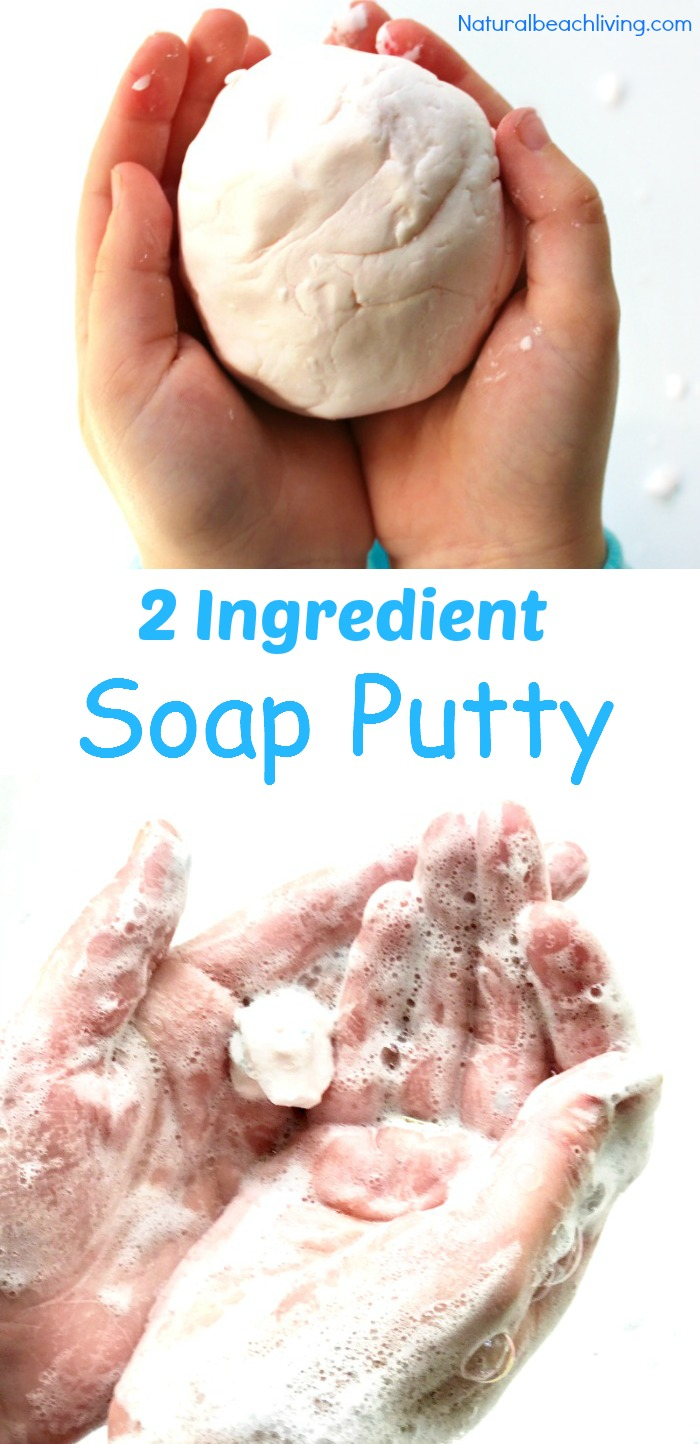 Putty Recipes, How to Make Putty, Silly Putty Recipe, Therapy Putty Recipe, Kids love playing, squeezing, pushing and pulling on putty. With these ideas you can make your own Homemade Putty Recipes anytime during the year. Silly putty, soap putty, stress putty, and even edible putty recipes will keep your fidgeters busy throughout the day.