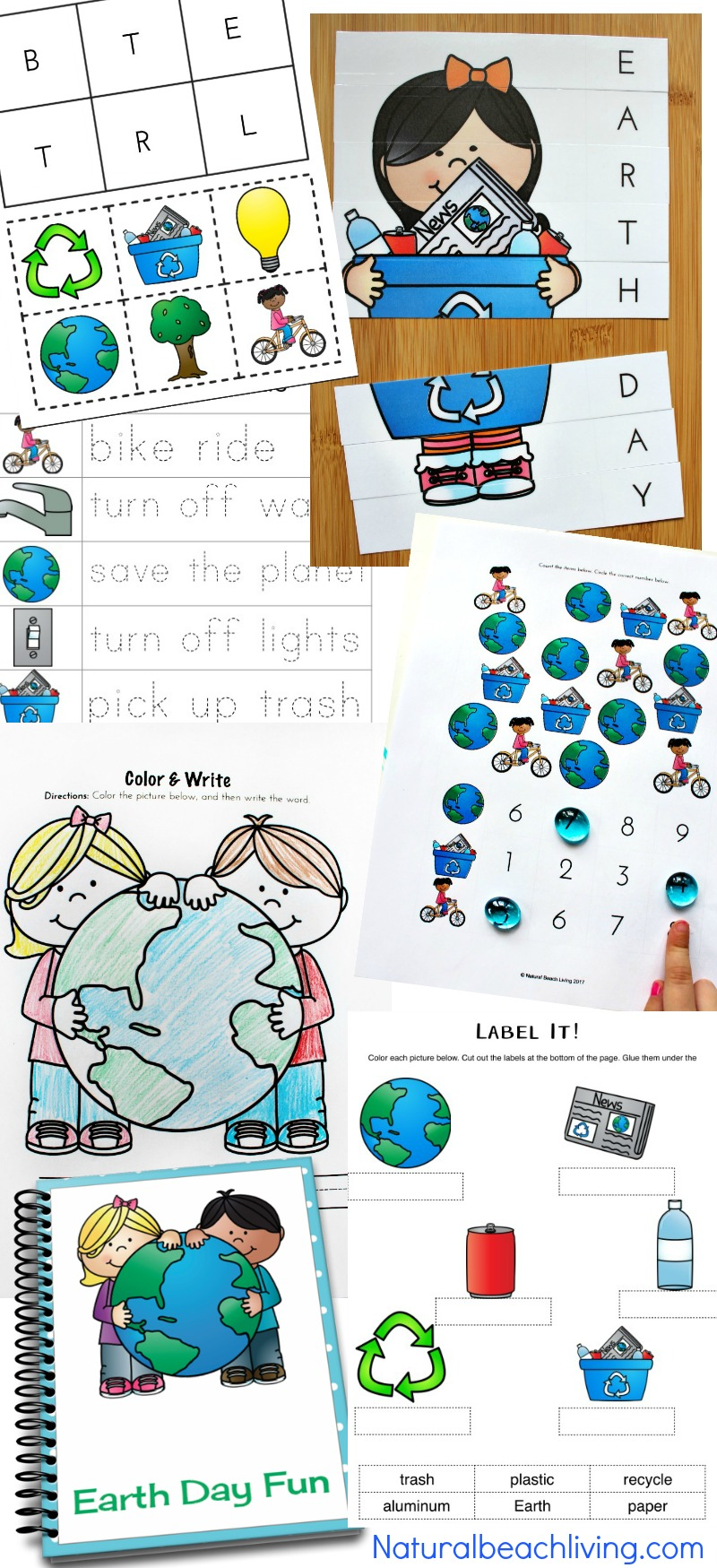 photo relating to Free Printable Classroom Labels for Preschoolers referred to as Planet Working day Functions Preschool Kindergarteners Take pleasure in (Cost-free