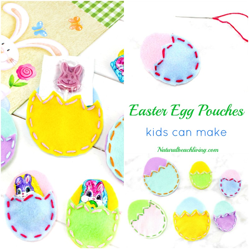 Easy Diy Easter Treat Bags Kids Can Make Natural Beach Living