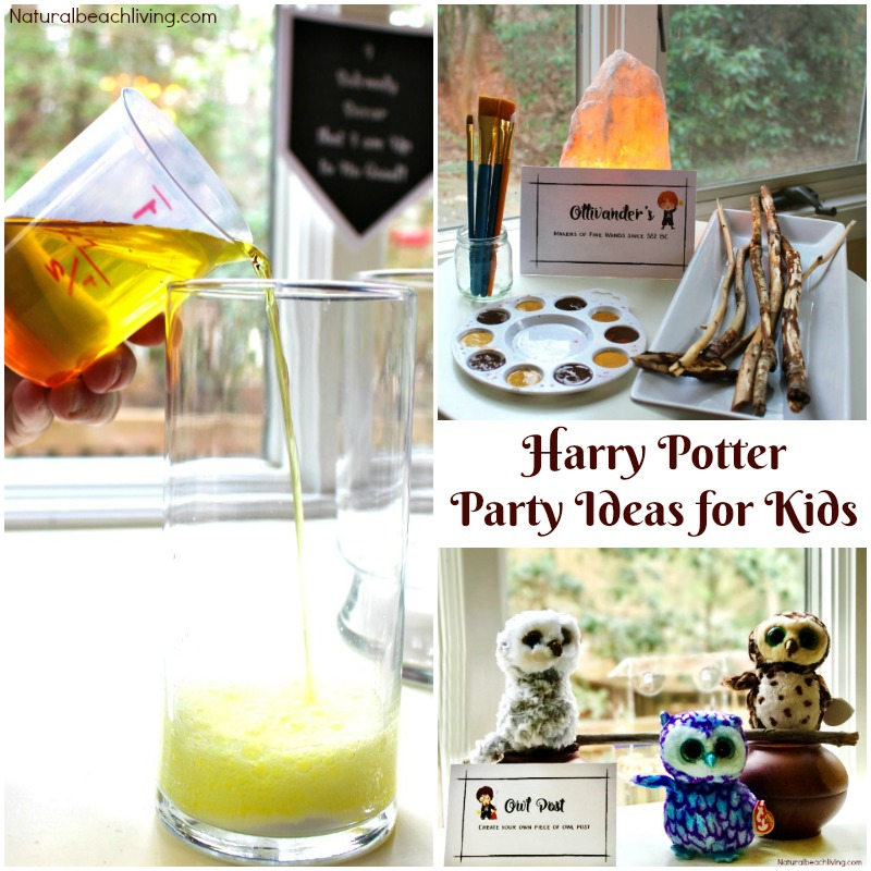 graphic regarding Harry Potter Decorations Printable referred to as The Most straightforward Harry Potter Social gathering Recommendations and Printables for Young children