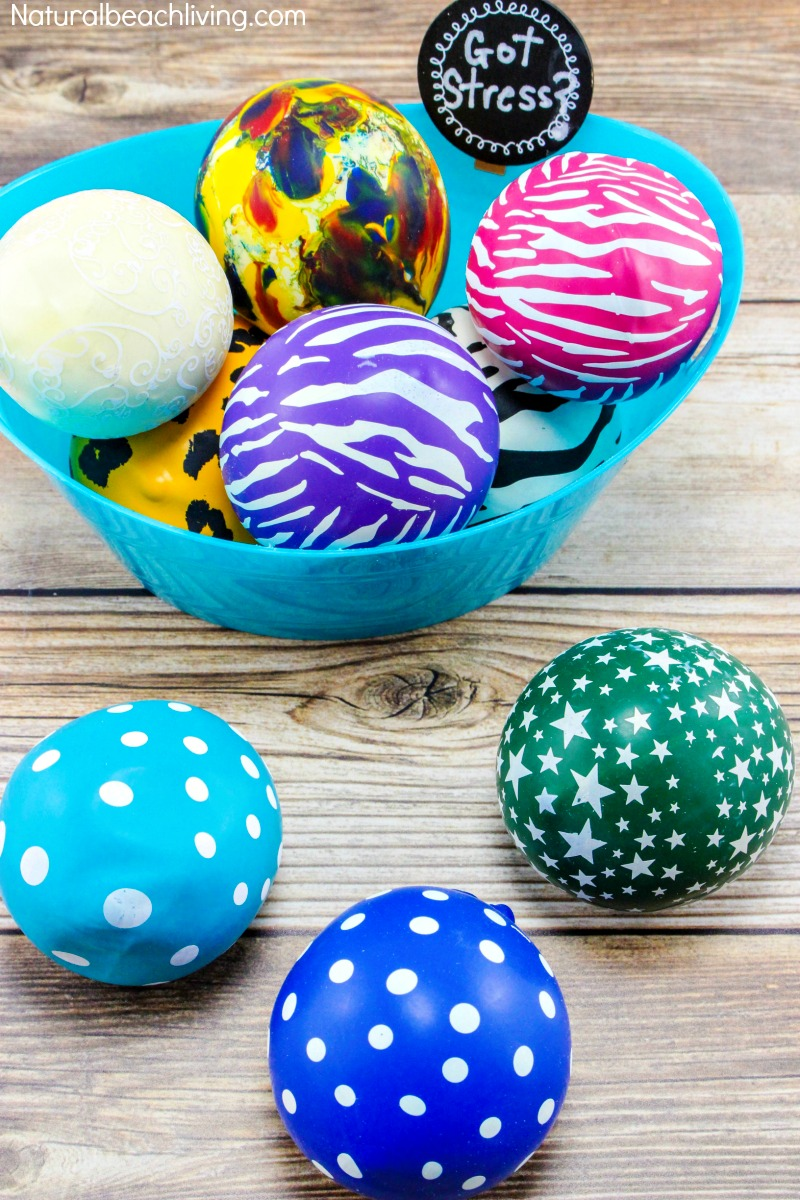 How to make stress balls kids love, sensory balls, DIY Sensory balls, Anxiety, Fidget toy