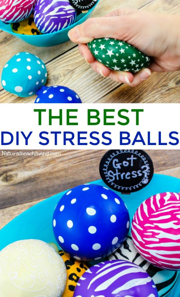 See How Easy it is to Make Homemade Stress Balls and How to make a stress ball in less than 5 minutes. These DIY Stress Balls are great for adults and kids plus they are really fun too. Find over 15 DIY stress balls and lots of Stress Ball Benefits Here
