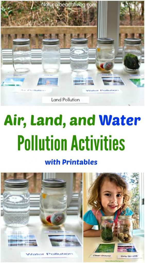 25+ Pollution Activities and Environmental Activities that you can use to teach kids about pollution and how they can help keep Earth clean and our animals protected. Pollution Activities for Kids, Plus, recycling activities for kids and Perfect Earth Day Crafts and Activities