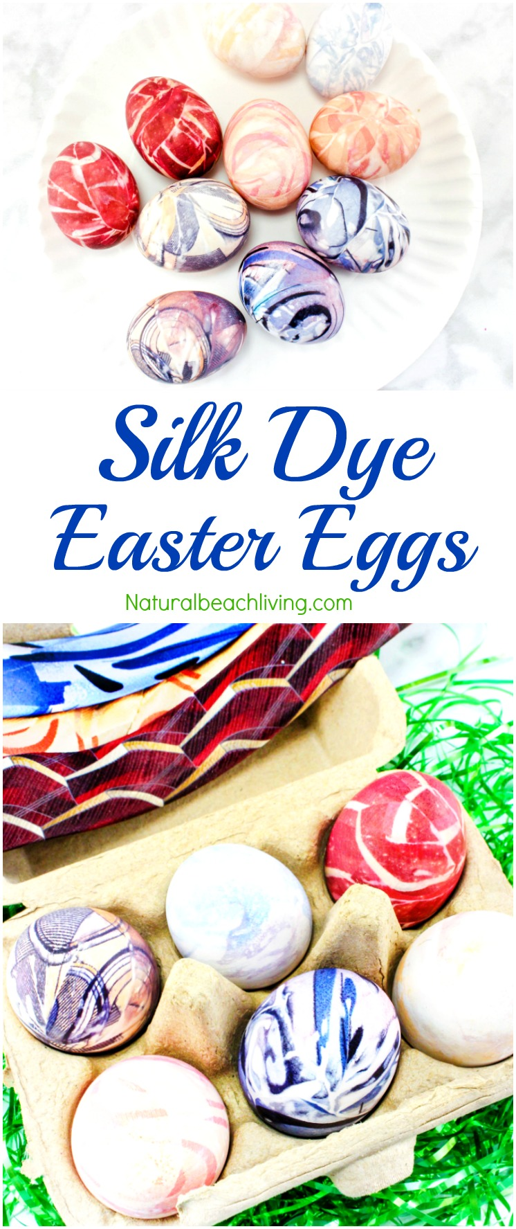 How to Silk Dye Easter Eggs Perfectly, Tie Dye Easter Eggs and creative ways to dye eggs, Silk Dyed Eggs, Easter Crafts for kids, One of a kind Beautiful Easter Egg Coloring. Easy Easter Egg Ideas for adults and kids