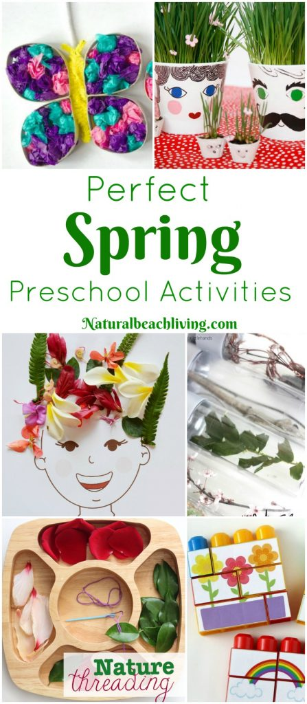 45+ Perfect Spring Preschool Activities