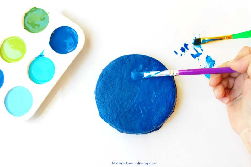 Earth Day Crafts Preschoolers Love to Make, Salt Dough Necklaces, Art for Kids, Earth Day Crafts, Earth Day Art, A fun hands on activity for Earth Day