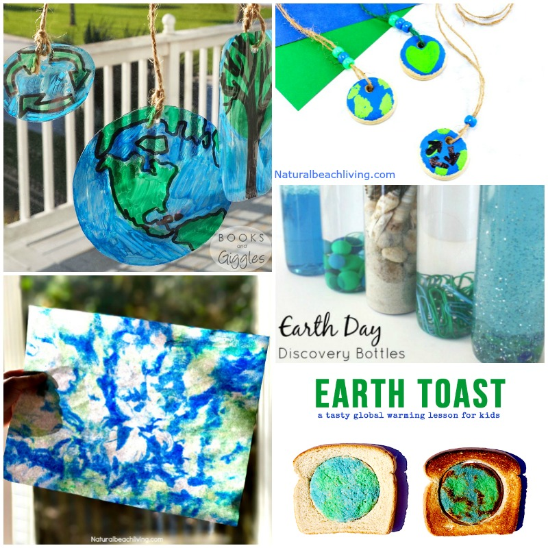 50+ Preschool Earth Day Theme Activities – Earth Day Activities for Kids