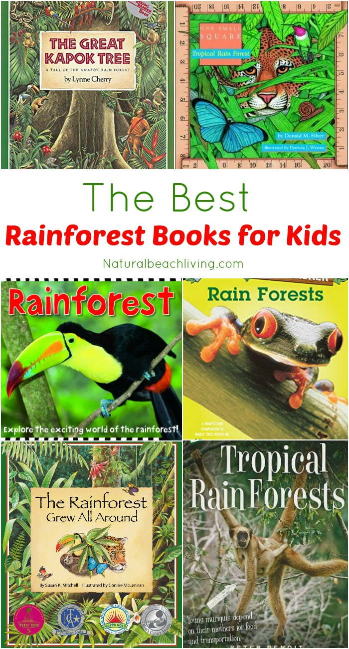 The Best Rainforest Printable Activities, Perfect for a rainforest theme unit study, kids activities & animal habitats, Rainforest Ecology, climate, animals