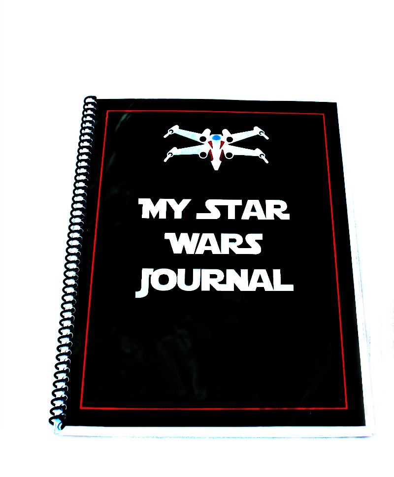 free star wars printables journal for kids is out of this world