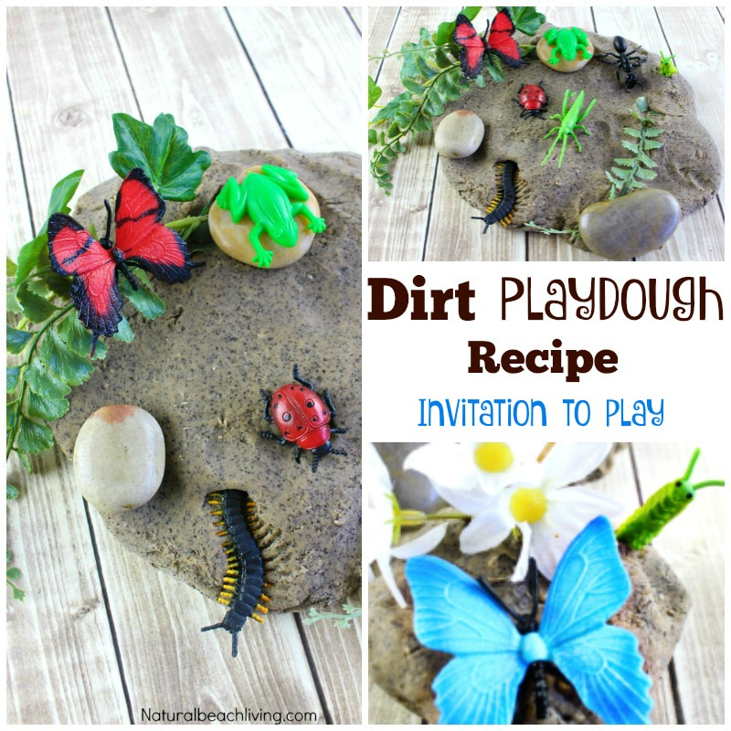 Dirt Coffee Ground Play Dough Kids Love