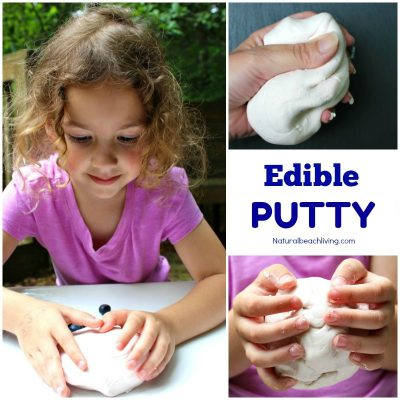How to Make Edible Putty – Easy 2 Ingredient Recipe