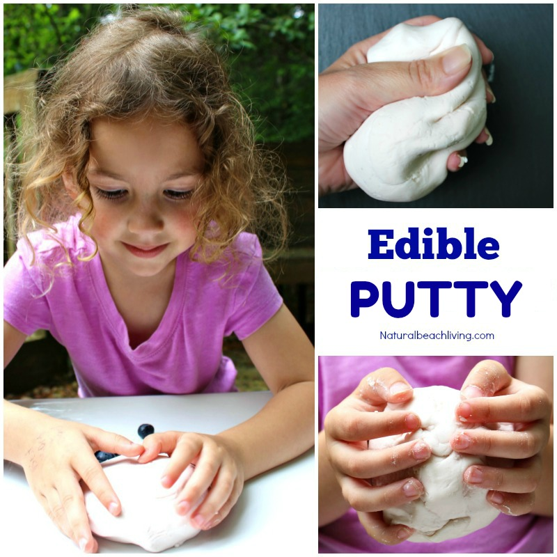 How to Make edible Putty, The Best Stress Putty Recipe, perfect sensory play, therapy putty for special needs, autism, and working fine motor skills , Best Sensory Dough