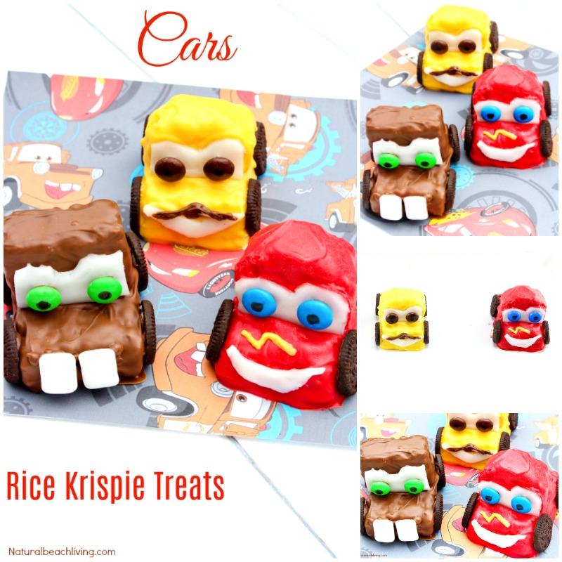 How to Make Disney Cars Rice Krispie Treats Everyone Will Love