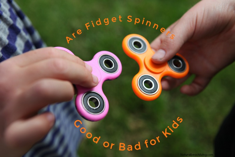 The History of Fidget Spinners, Are Fidget Spinners good or bad for kids, ADHD, anxiety, toys for Fidgeter, calm down toys, pros and cons of fidget spinners
