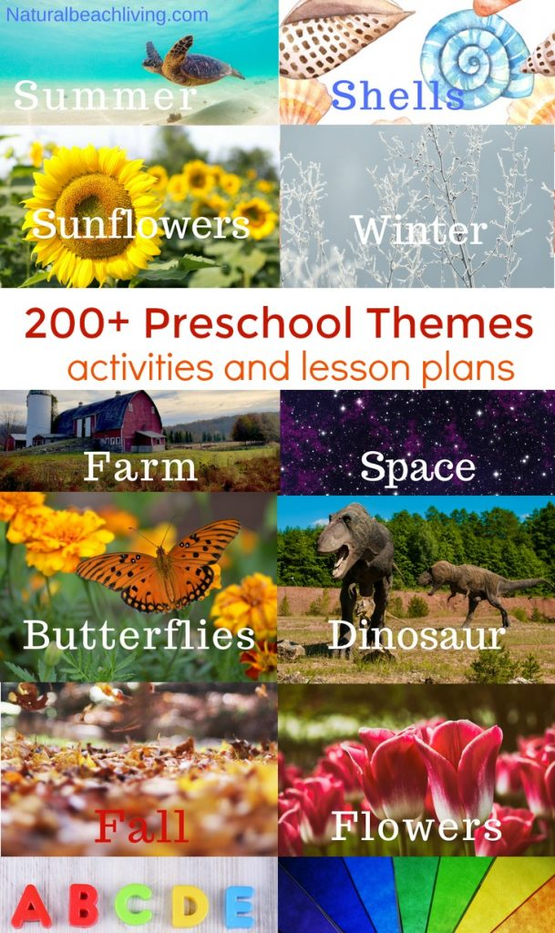 200 Best Preschool Themes And Lesson Plans For Kindergarten