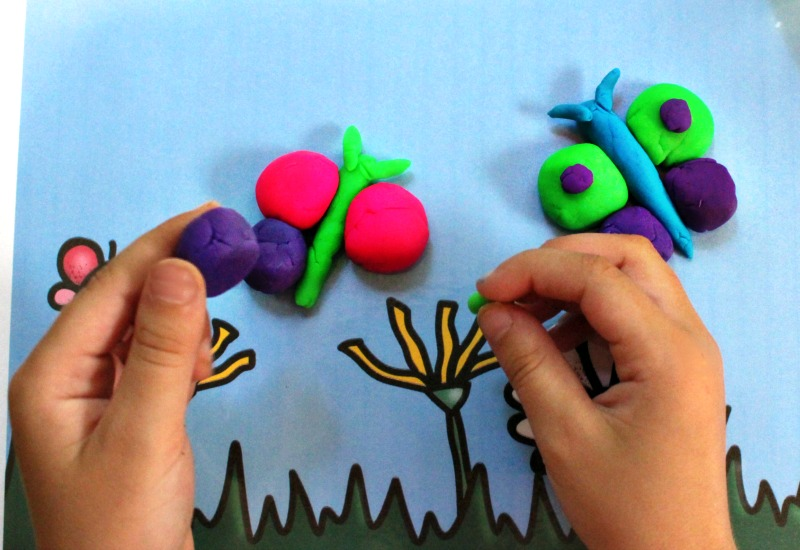20 Four Seasons Activity Printable Playdough Mats, Open-ended play perfect for toddlers, Preschoolers & Kindergarten, Fall, Winter, Spring & Summer Activity