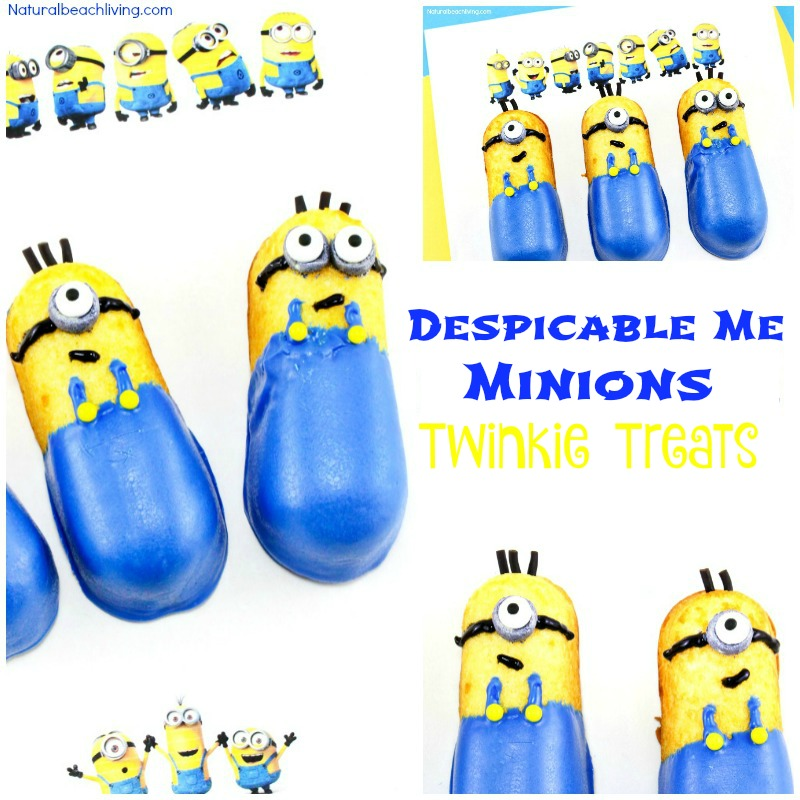 How to Make Despicable Me Minions Twinkie Treats